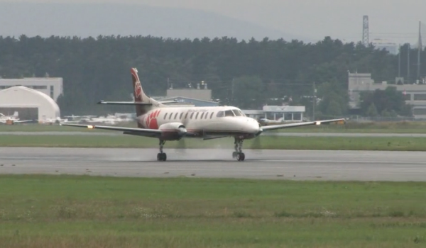 Aircraft landing Risk of collisions on runways video