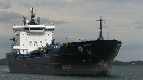 Still of vessel, from the marine safety management systems video