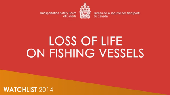 Image from the loss of life on fishing vessels video